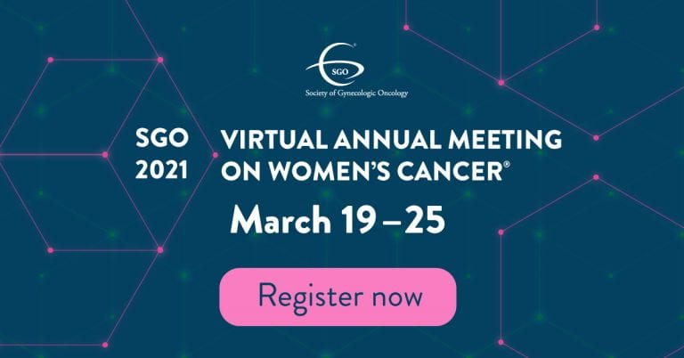 Society of Gynecologic Oncology 2021 Annual Meeting News